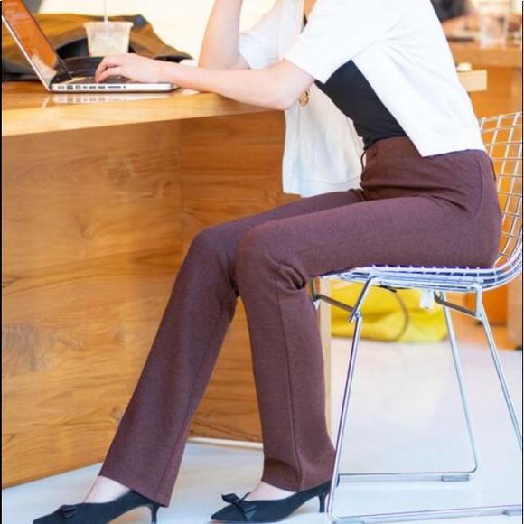 60e85b08cb388 Betabrand Pants | Sz Sp Dress Yoga Pant Straight Leg | Poshmark